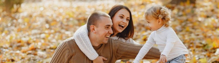 Family Relaxing and Laughing - No stress finance